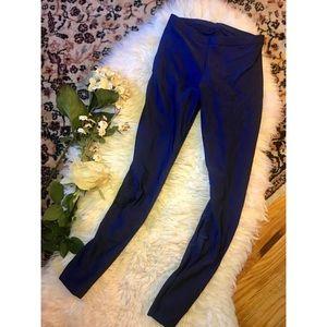 American Apparel Royal Blue leggings Sz M